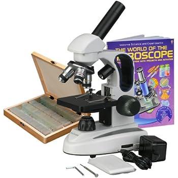 Amazon.com: AmScope M158C-PS25-WM Cordless Compound