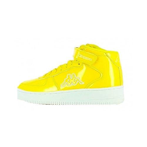 belle couleur chaussures pour pas cher code de promo Kappa - Kappa Caserta Mid Scarpe Sportive Alte Gialle ...