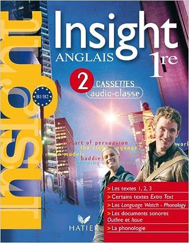 Téléchargement gratuit de livres pour kindle Insight Anglais 1re ed 2007 - 3 Cassettes Audio-Classe 2218927969 PDF CHM ePub