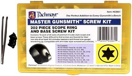 Pachmayr Master Gunsmith Torx-Style Ring and Base Screw Kit 03061 NEW