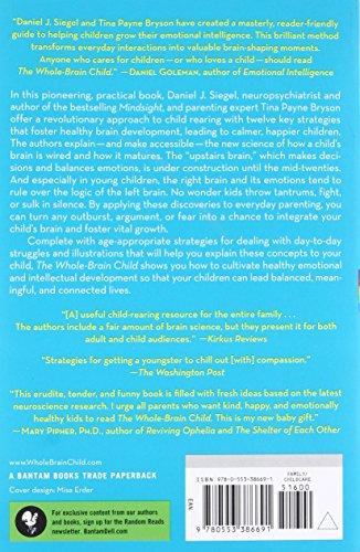 The Whole Brain Child 12 Revolutionary Strategies To Nurture Import
