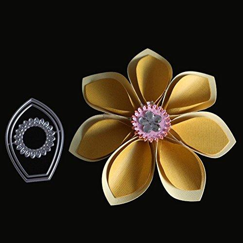 Cutting Dies Stencils Metal,Lavany Metal Dies Cutting Stencil Die-Cuts for Card Making Clearence DIY Paper Scrapbooking Album Flower Leaf (B)