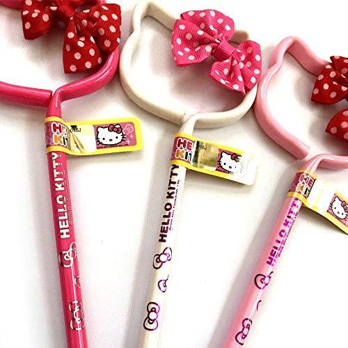 Sanrio Hello Kitty Ball Point Pen Set 3pc Pens Set Black Blue Red