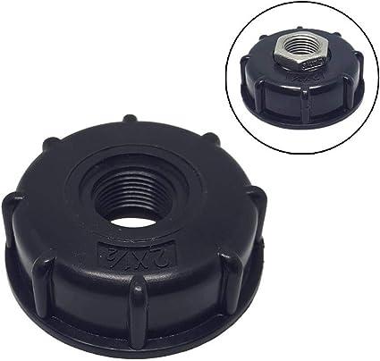 IBC adaptador de tanque S60x6 a 3//4 IBC tanque de agua rosca gruesa manguera conexi/ón