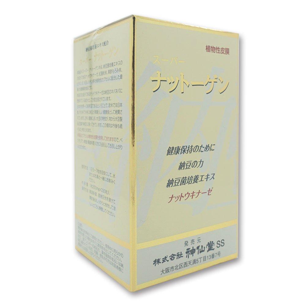 神仙堂 スーパーナットーゲン 330粒入 納豆菌培養エキス加工食品 (3) B07CGXSQNM 3