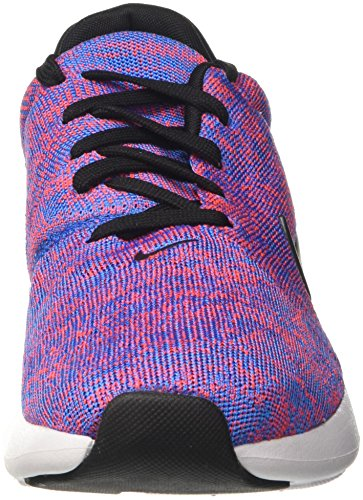 Nike Air Max Modern Flyknit, Scarpe da Ginnastica Uomo Blu (Photo Blue/Black/Bright Crimson/White)