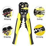 Wire Stripper, Anbaituer Self-adjusting Cable Cutter Crimper with 3 in 1 Multi Pliers for Wire Stripping, Cutting, Crimping 10-24 AWG (0.2~6.0mm²)