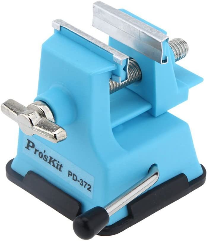 Mini Small Tabletop Vise Fixed Machine Attachment Vice Hobby Jewelry Accessory
