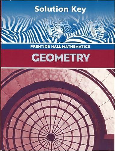 Amazon geometry teachers solutions key 9780130375599 geometry teachers solutions key teacher edition by pearsonprentice hall fandeluxe Image collections