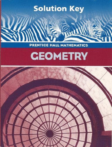 Geometry, Teacher's Solution's Key -  Pearson, Teacher's Edition, Paperback