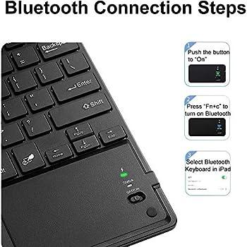 Funda para Teclado iPad Pro 11 2020 - Teclado Bluetooth ...