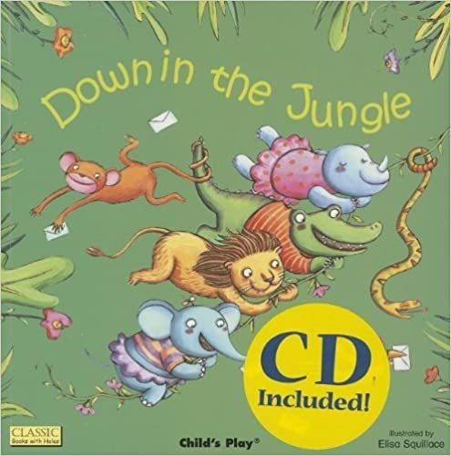 Down in the Jungle (Classic Books with Holes) by Mandy Ross (2013-09-04)