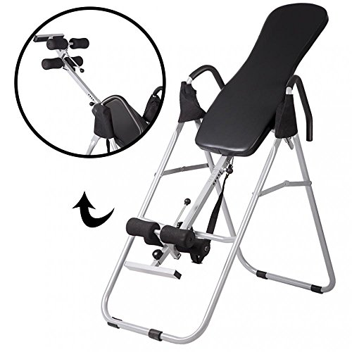 BMS Adjustable Folding Inversion Table Inversion Machine With Comfort Backrest Bestmassage by BMS