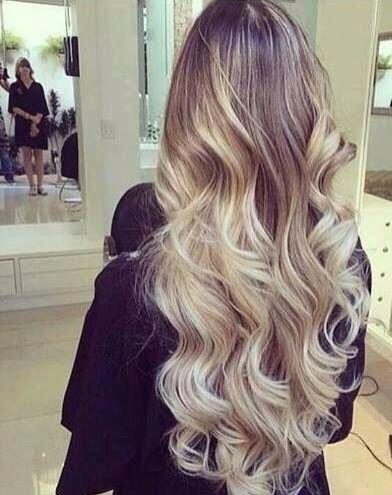 LaaVoo 14inch 100 Human Hair Wig Natural Wavy Balayage Ombre Dark Brown  Root with Platinum Blonde