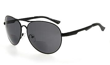Eyekepper Metallrahmen Fischen Golf Radfahren Fliegen im Freien Bifocal Sonnenbrillen Schwarz +1.0 S1iso5TVPT