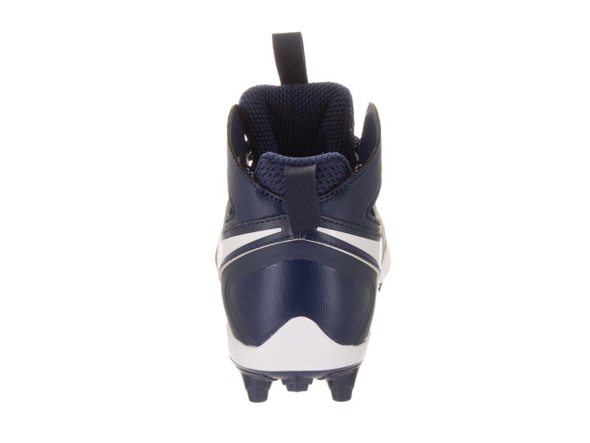 NIKE Men's Huarache V Lax Midnight NavyWhite White Cleated Shoe 10 Men US