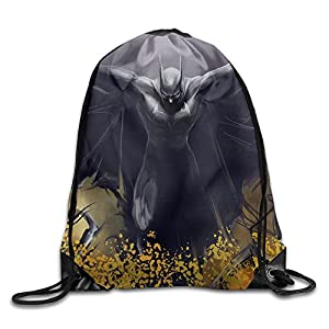 Acosoy Batman Logo Drawstring Backpacks/Bags