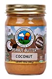 dry roasted coconut - Jason Scott's All Natural Dry-Roasted Peanut Butter with Coconut - Vegan Gluten Free Non-GMO Zero Added Sugar Family Owned Brand
