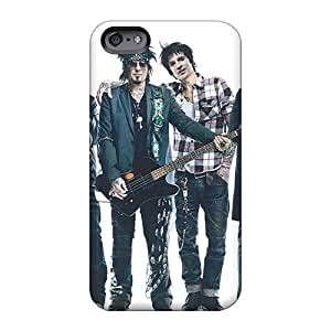 TraciCheung Apple Iphone 6 Shock Absorbent Hard Phone Case Provide Private Custom HD Motley Crue Band Pattern [NMB3455GwNx]