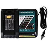 FLAGPOWER Replacement Power Tools Lithium-Ion Battery Charger 14.4V-18V for Makita BL1830 BL1815 BL1840