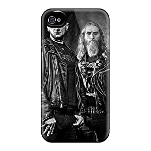 Perfect Hard Phone Covers For Iphone 4/4s (Euo10346IQWz) Allow Personal Design High Resolution Dissection Band Pictures