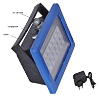 Emergency light Plastic 9W Portable and Rechargeable Emergency Light with Charger By Vyan Enterprises (Blue) - Pack of 1