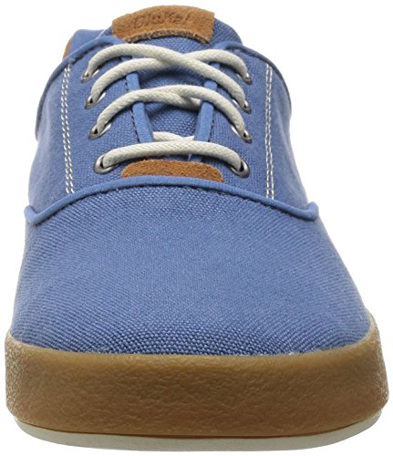 Olukai Makani Lace Up Sneaker - Chaîne Homme Bleu / Moutarde