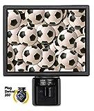 Art Plates NL-90 Sports: Soccer Balls Night Light