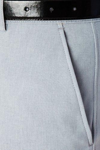 Hommes Farah Slant Poche Formelle Pantalon Classique Gris 101cm x 69cm