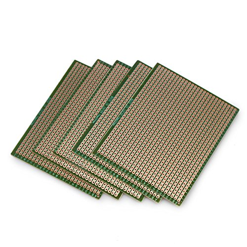 5pcs DIY Soldering Prototype Copper PCB Printed Circuit Board 70mm x 90mm Stripboard
