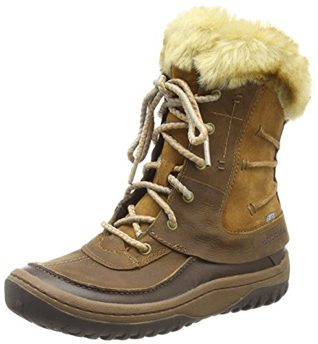 Brown Merrell WTPF Sonata Braun Marron Sugar Decora Femme Bottes 11OS0rq