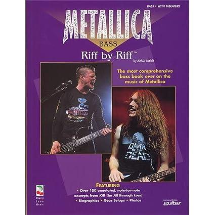 Metallica Bass: Riff By Riff. Partituras para Guitarra Bajo(Símbolos de los Acordes