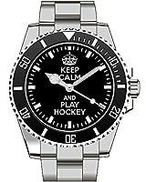Keep calm and play Hockey - Kiesenberg Uhr 1902