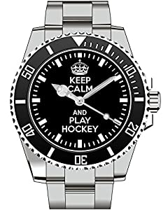 Keep calm and play Hockey - Kiesenberg Uhr 1902