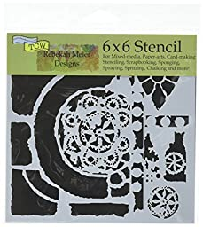 Crafters Workshop TCW629S Template, 6\