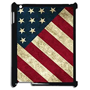Rustic American Flag Plastic Case Back Cover iPad Mini