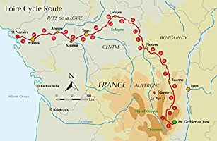 The Loire Cycle Route From the source in the Massif Central to the Atlantic coast