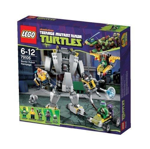 Lego 79105 Teenage Mutant Ninja Turtles - L'attaque du robot de Baxter