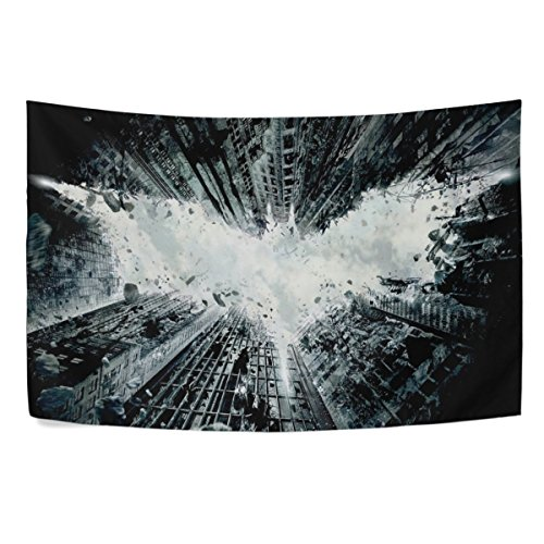 (Mabel D. Silva Bat Tapestry wall Hanging Wall Tapestry Black and White Tapestry Clean Hippie Tapestry Beach Tapestry Wall Tapestry for Bedroom)