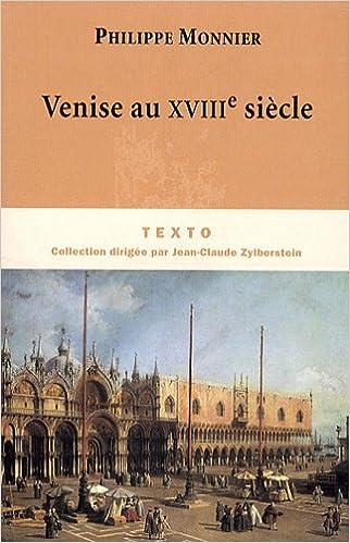 Livres Venise au XVIIIe siècle pdf