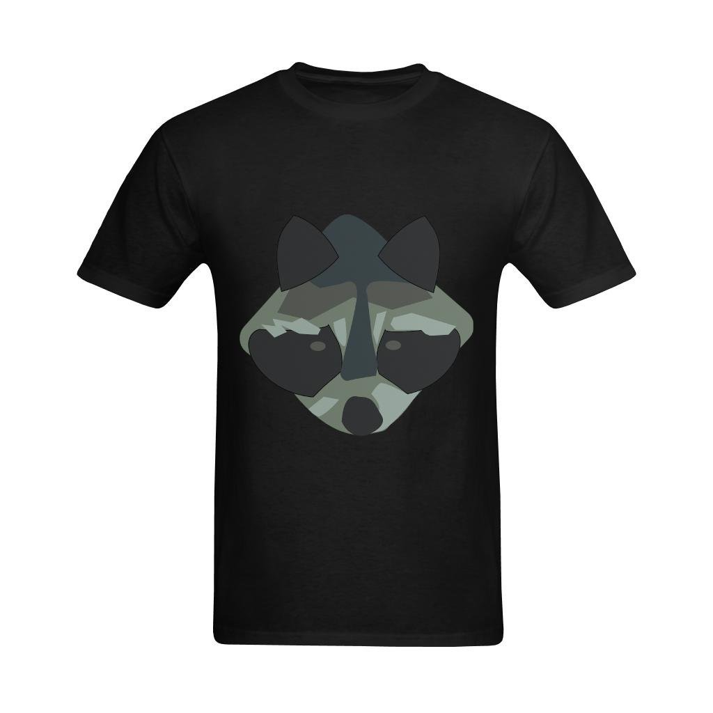 Neryaing S Racoon Hight Funy Face Panda Shirts