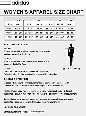 adida size chart