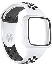 Prevently - Correa de Reloj de Repuesto para Fitbit Versa (Silicona)