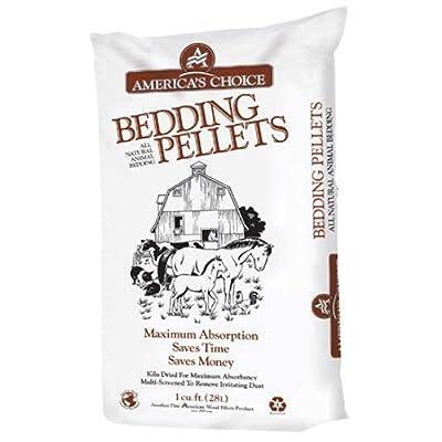 AMERICAN WOOD FIBERS BEDDING PELLETS PinePellet Bedding, 40 lb