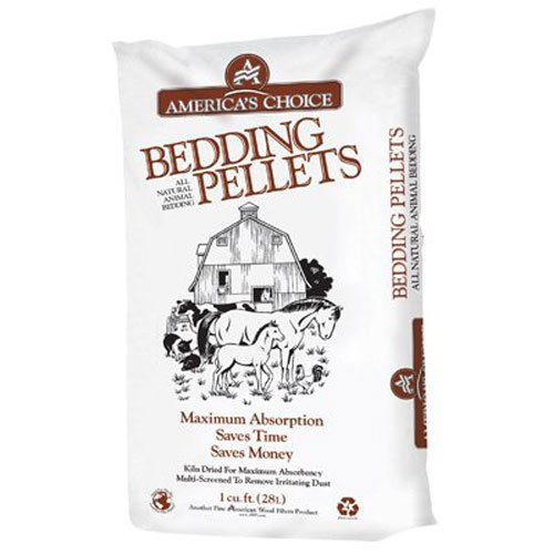 American Wood FIBERS Bedding PELLETS PinePellet Bedding, 40 lb ()