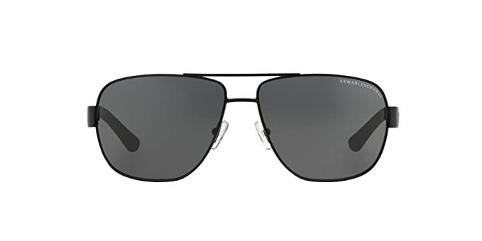 ae47515ec82 Image Unavailable. Image not available for. Color  Armani Exchange Men s  Metal Man Sunglass 0AX2012S Aviator Sunglasses