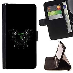 Jordan Colourful Shop - clock razer ringing For HTC DESIRE 816 - < Leather Case Absorci????n cubierta de la caja de alto impacto > -