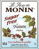 Monin Premium Hazelnut Sugar Free Syrup 1 L