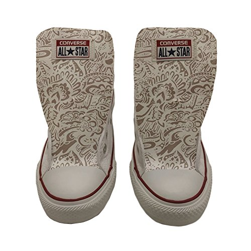Paisley Chaussures Star artisanal Coutume Converse Damask All produit awO1TWnW0q