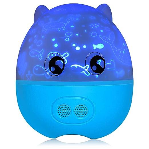 Amazon.com: Wavypo Lámpara de Luz Nocturna para Bebé y Niños ...